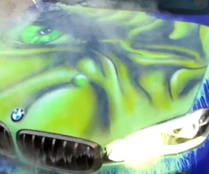 This BMW Turns Into the Hulk: Angry When Wet