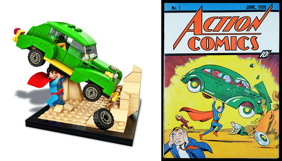 LEGO Action Comics #1 2015 SDCC Exclusive