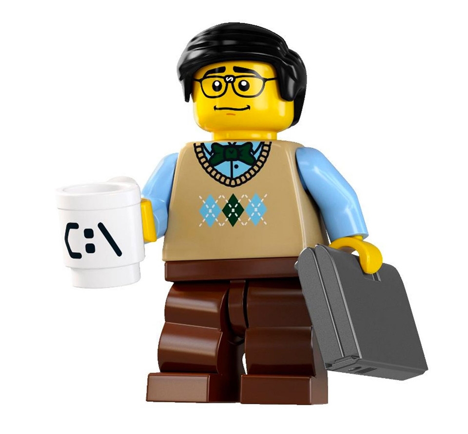 "Cambridge Hiring ""Professor of LEGO"""