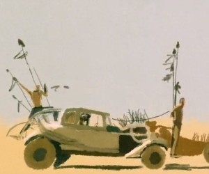 Mad Max: Fury Road – Watercolor Edition