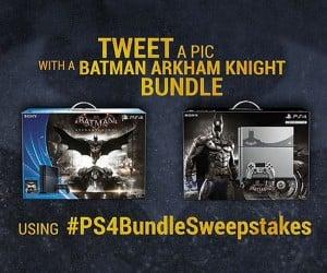 Win a Custom Batmobile from PlayStation