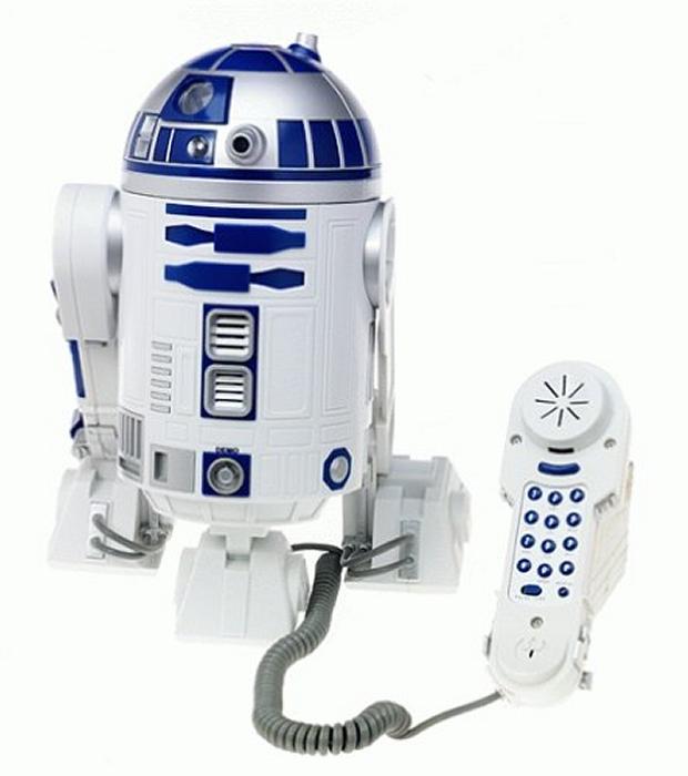 Star Wars R2-D2 Novelty Phone