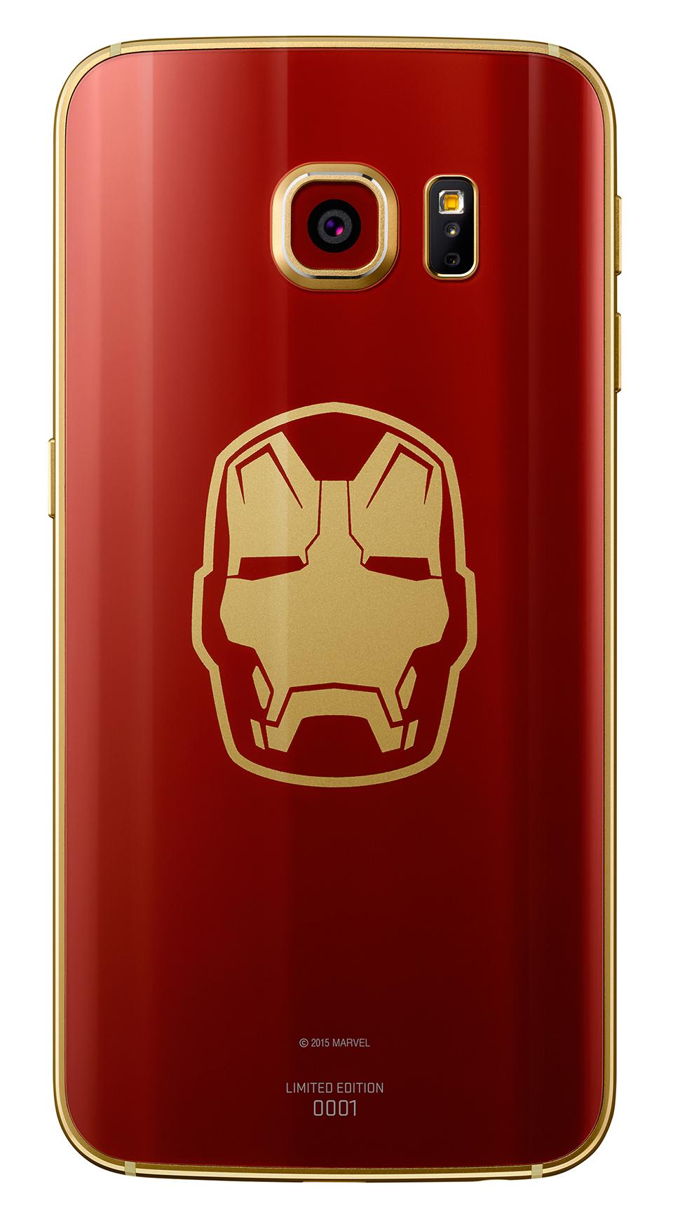 Samsung Galaxy S6 Iron Man