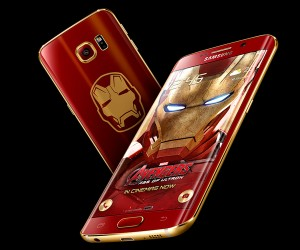 Samsung Galaxy S6 Edge Iron Man Edition Giveaway
