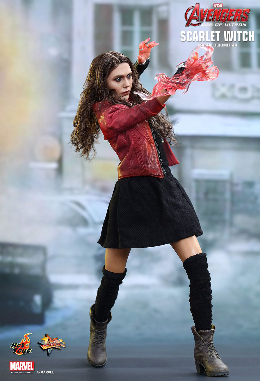 Hot Toys Avengers  AoU Scarlet Witch Action FigureHot Action Figure