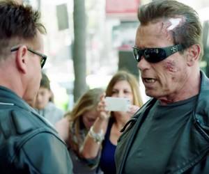 Arnold Schwarzenegger Pranks Fans as The Terminator