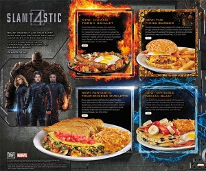Denny's to Offer Fantastic Four Fare
