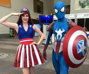 The Perfect Captain America/Spider-Man Cosplay