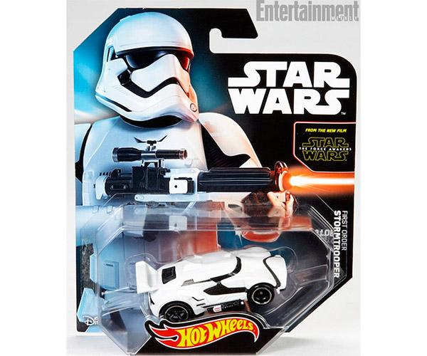 The Force Awakens Stormtrooper Hot Wheels