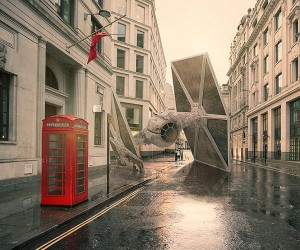 Star Wars Ships Come Crashing Down to Earth