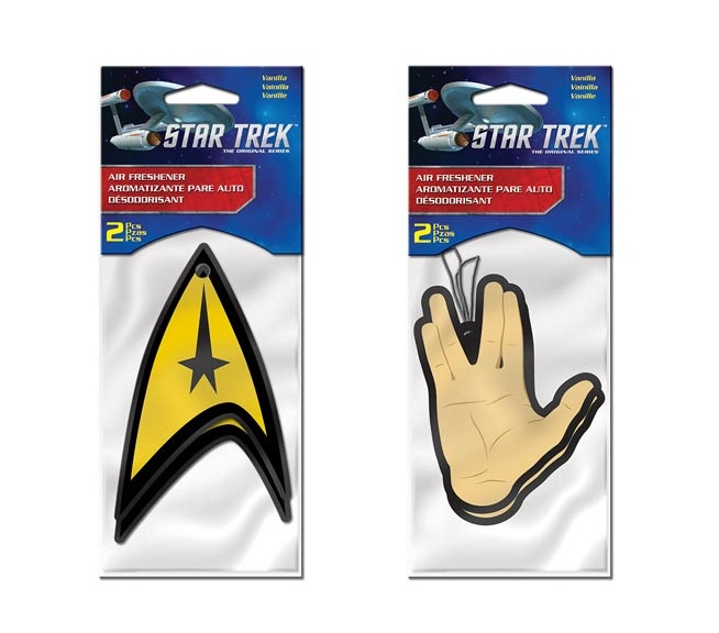 Star Trek Air Fresheners Make The Voyage Home Smell Nice