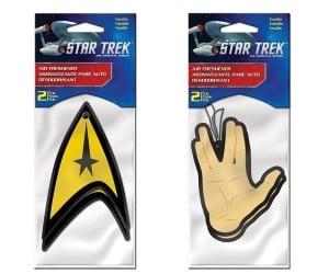 Star Trek Air Fresheners Make The Voyage Home Smell Nice
