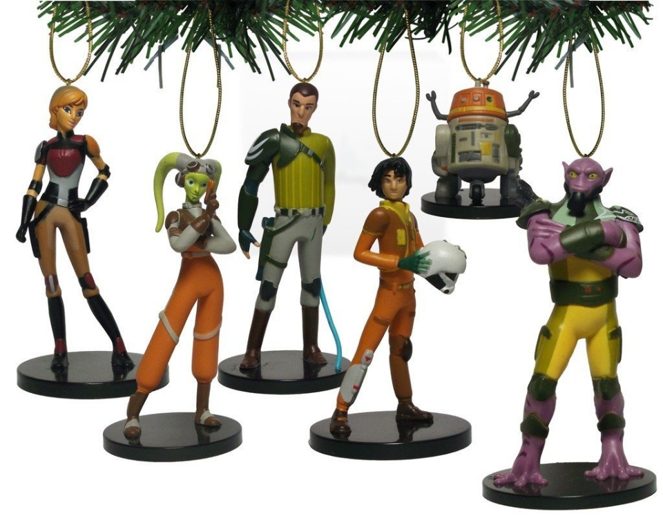 Star Wars Rebels Holiday Ornament Set