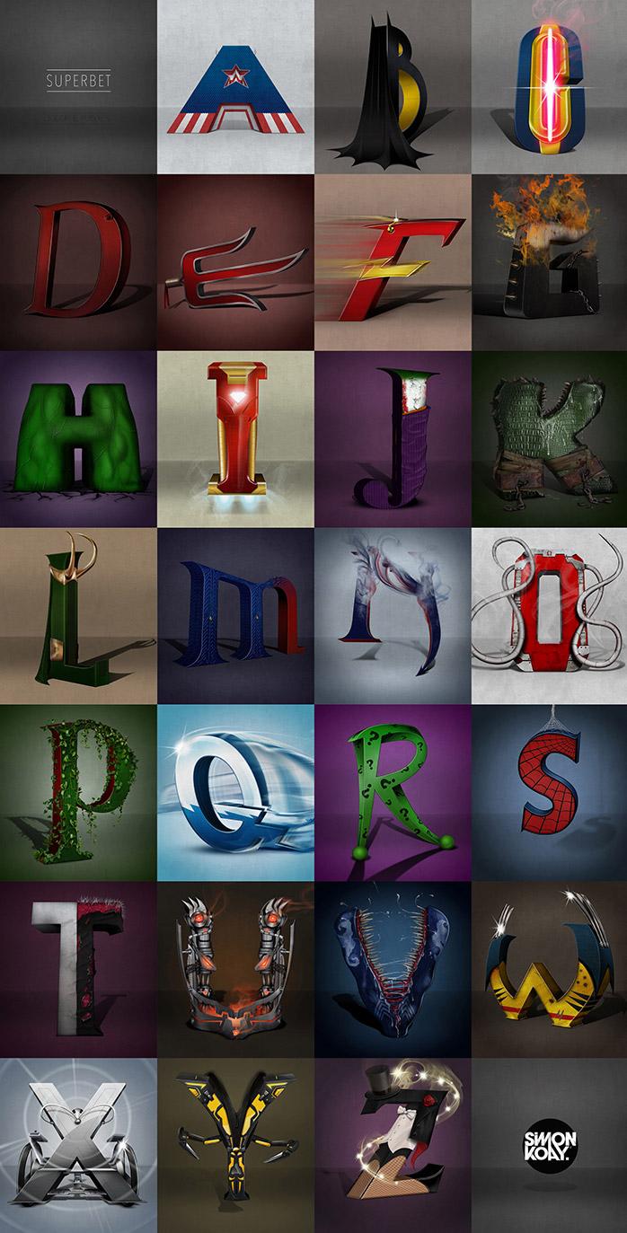 A Superior Alphabet