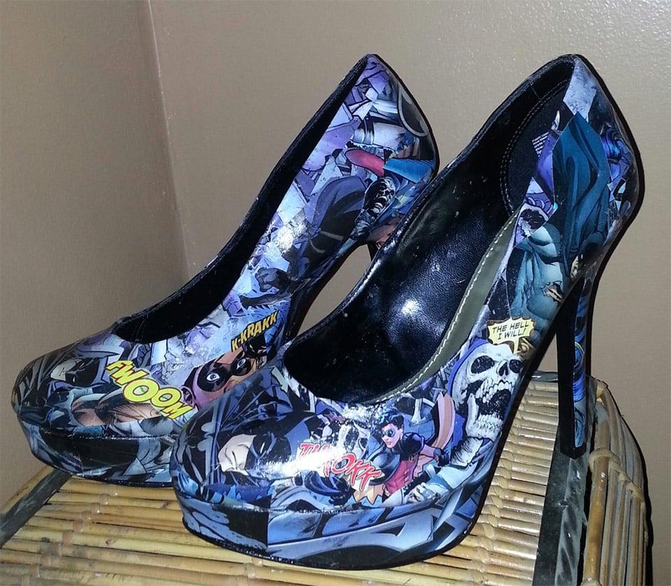 High Heels for the Superhero Set