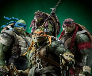 Threezero TMNT Movie Action Figure 4-Pack