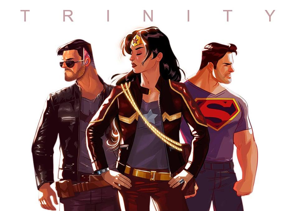 Stephen Byrne's Trinity Fan Comic