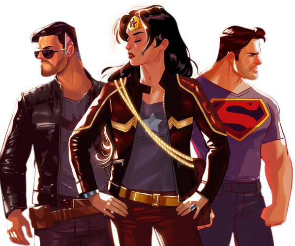 Stephen Byrne's Trinity Fan Comic