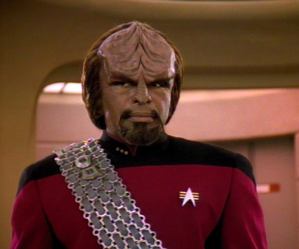Could a Mountain of Muffins Bring Back Worf?
