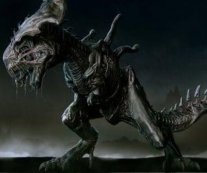 Xenomorph T. Rex is T. errifying