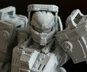 Sergey Kolesnik's 3D Printed Robot Action Figure