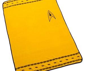 Star Trek Uniform Blanket