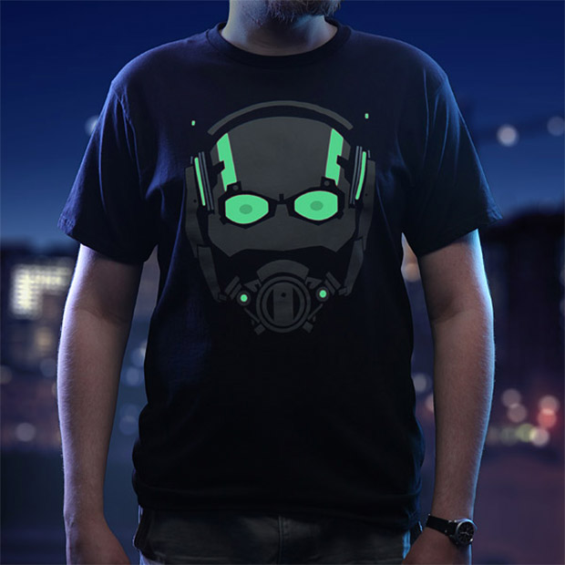Stand out with This Glow-in-the-Dark Ant-Man T-shirt