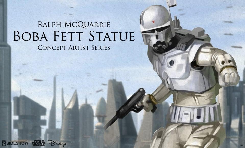 Sideshow Announces Ralph McQuarrie Concept Artist Series Boba Fett