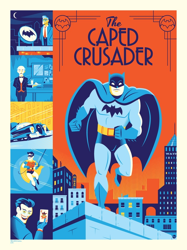 Awesome Caped Crusader Prints From Dave Perillo