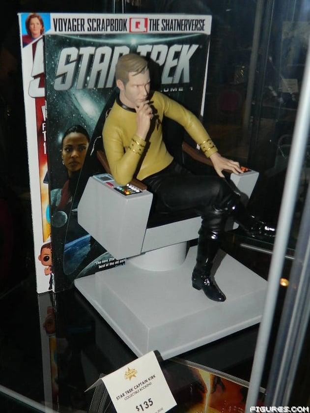 Captain Kirk Bookend