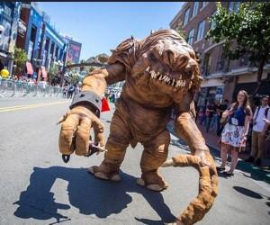 Rancorous Rancor Terrorizes Comic-Con