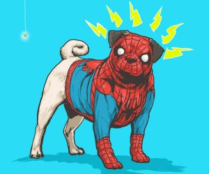 Marvel Characters as Dogs