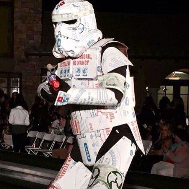 Artist Creates Domino's Pizza Armored Stormtrooper