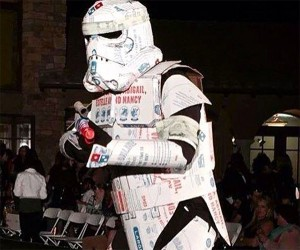 Artist Creates Domino's Pizza Armored Stormtrooper