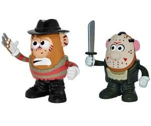 Mr. Potato Head Freddy Krueger and Jason Voorhees