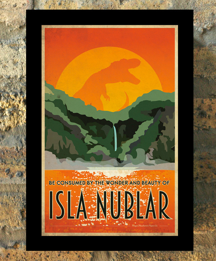 Geeky Vacation Destination Posters