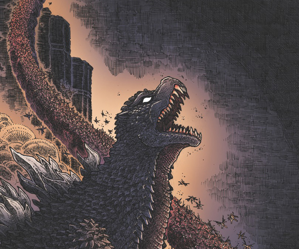 IDW to Release Godzilla in Hell Miniseries