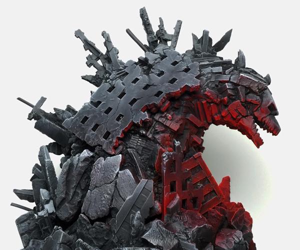 Mondo Godzilla Statue