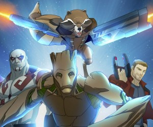 Guardians of the Galaxy Animated Series Poster & Release Date