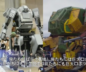 USA vs. Japan Giant Robot Fight is On!