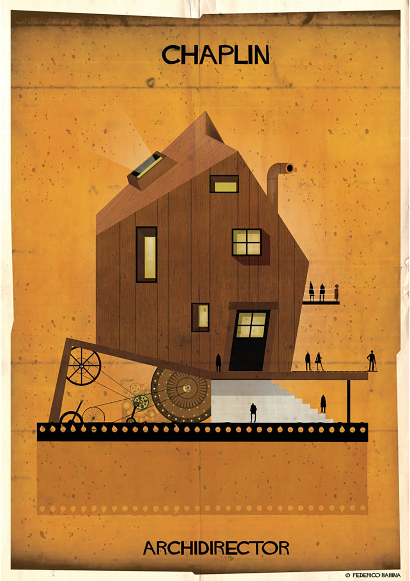 Architecturally Interpreting Famous Film Directors