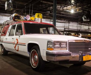 New Ghostbusters Ecto-1 Revealed