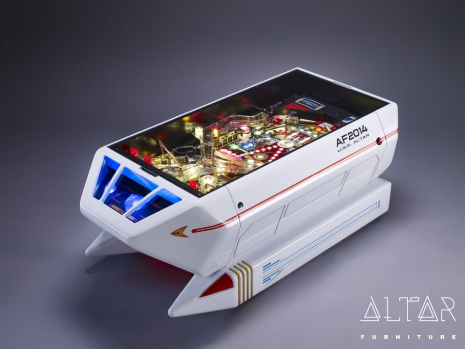 Star Trek Pinball Shuttlecraft Table
