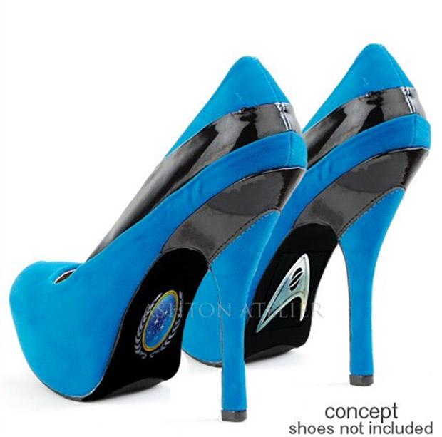 Pump It up with Custom Star Trek Heels