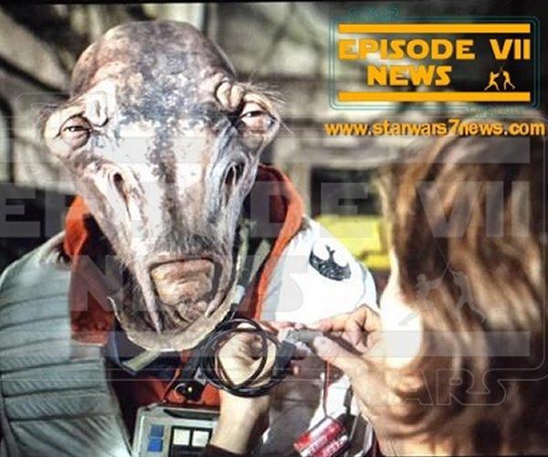 New Star Wars: The Force Awakens Alien Revealed