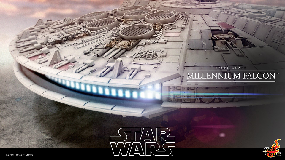Hot Toys Teases Sixth Scale Millenium Falcon