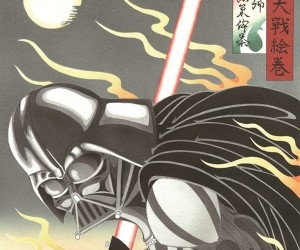 Star Wars Ukiyo-e Woodblock Prints