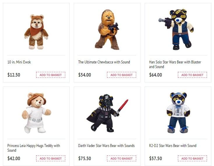 Star Wars Build A Bears Mightymega