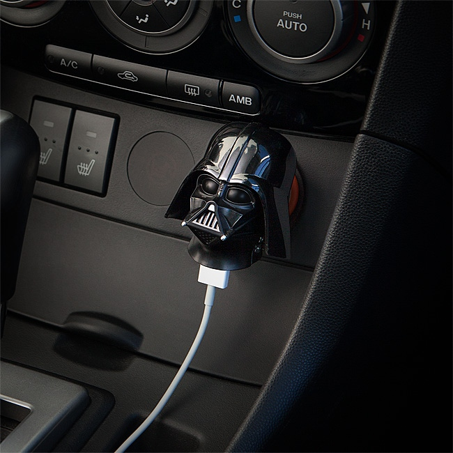 Darth Vader and Stormtrooper USB Car Chargers