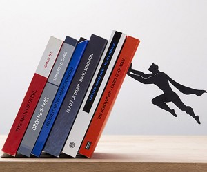 Superhero Book Holders to the Rescue